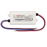 Mean Well APV-16-12 12V 1.2A Power Supply LED Driver Water & Dust-proof