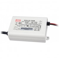 Mean Well PCD-25-350B 25W 350mA Power Supply LED Driver Water & Dust-proof