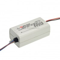 Mean Well APV-16-24 6W 24V 0.67A Power Supply LED Driver Water & Dust-proof