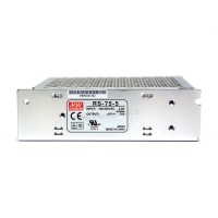 Mean Well RS-75-5 AC/DC Single Output Switching Power Supply 5V 12A 60W