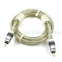 Choseal Digital Gold Plated stereo hifi Coaxial Digital Cable