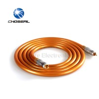 Choseal high-quality audio cable RCA to RCA audio cable Gold-plated