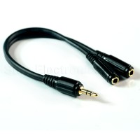 Choseal 3.5mm Earphone Audio Y-Splitter Cable for iphone ipad