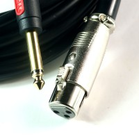 Choseal hifi 6.35mm TRS to Balanced XLR audio interconnect Cable