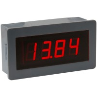 "0.56"" 4 Digital Red LED Volt DC 10V Panel Meter Rescalable"